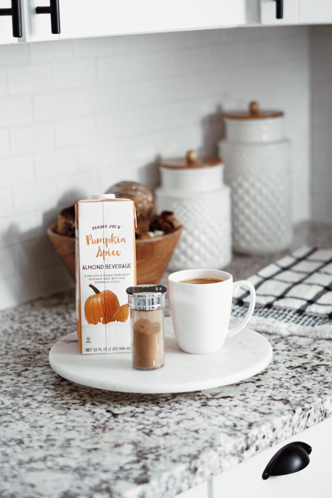 Trader Joes Pumpkin Spice Latte Coffee Recipe