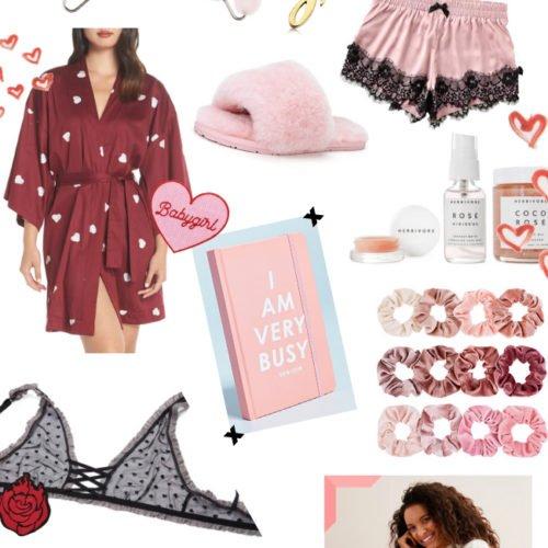 Valentine's Day Collage Treat Yo Self