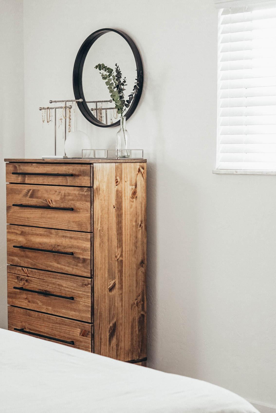 Diy Ikea Dresser Staining Tutorial