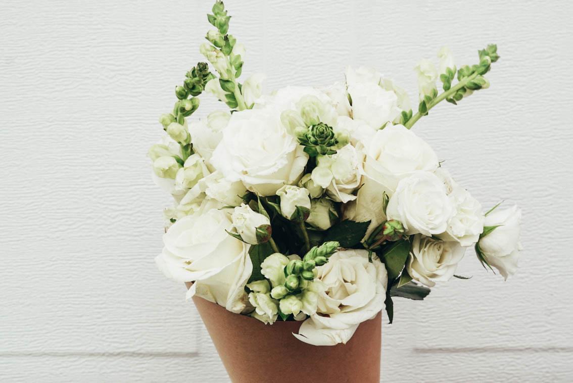 URBANSTEMS FLOWER DELIVERY - WHITE BOUQUET