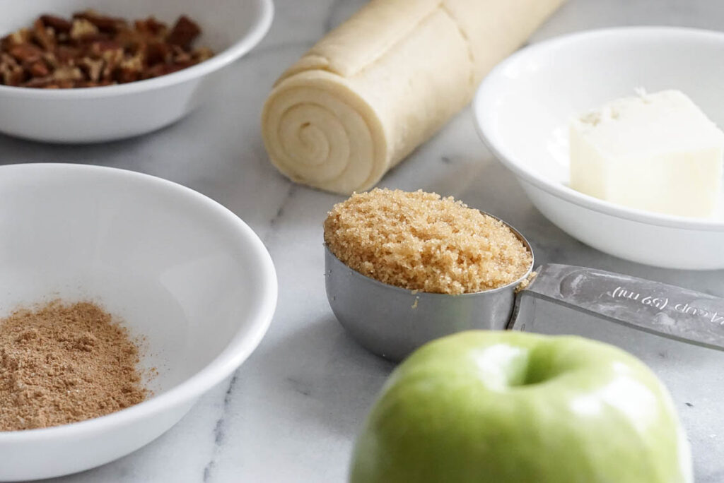 Easy Apple Bite Bites Ingredients