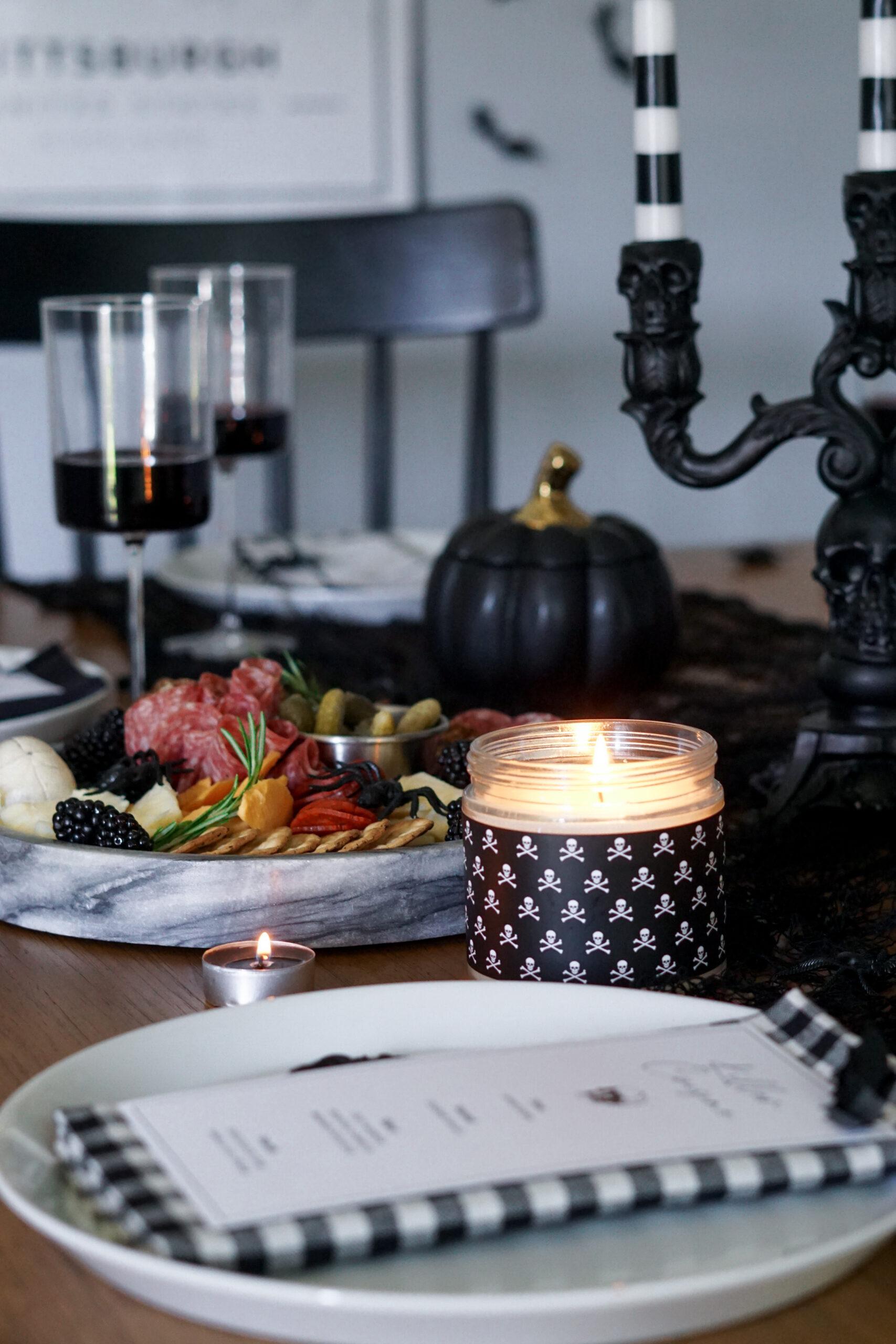 halloween dinner party inspiration